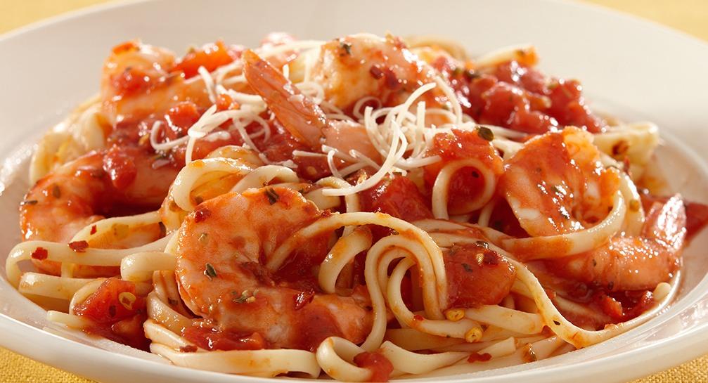 Spaghetti Udang Pedas