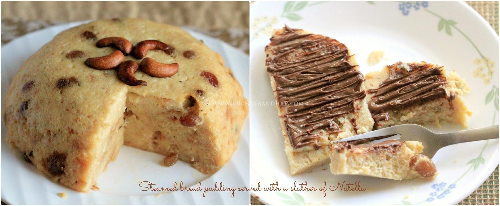 Pudding Roti Kukus